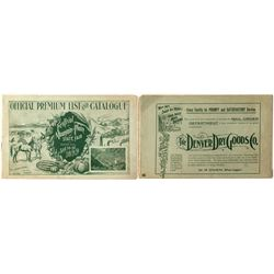 Festival of Mountain and Plain and State Fair Booklet (1899)
