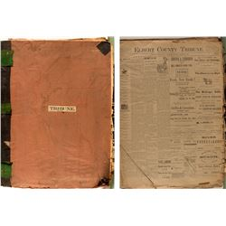 Elbert County Tribune Bound Volume (1895-1896)