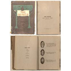 "Leadville High School ""The Miner"" Volume 1, Number 1"