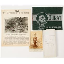 Ouray Booklets & Photograph