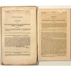 Jefferson Territory Pamphlets (Colorado, 1860)