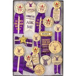 Colorado Elks Convention Badge Collection