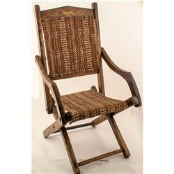 Vintage Folding Child's Chair from an early Colorado Family
