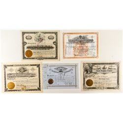 Telephone Stock Certificates from the West (5)