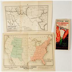 Three Colorado Maps