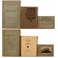 Two Early Colorado Tourism & Railroad Booklets