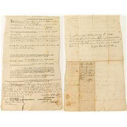 Early Connecticut Land Deed