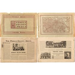 The Fergus County Argus, Pictorial Edition (Newspaper Booklet)