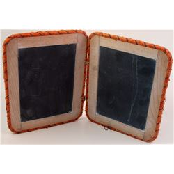Two Writing Slate Tablets used in Dayton, Nevada