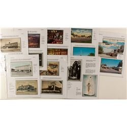 Elko Area Hotels Postcards