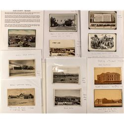 Postcards of Elko Buildings (some RPC's)