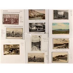 Postcards of the Elko Surrounding Area (Train, Native American, Etc)