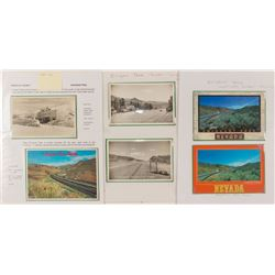 Six Emigrant Pass Postcards