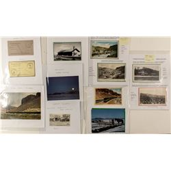 Twelve Elko Area Postcards