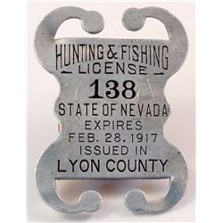Lyon County Hunting License