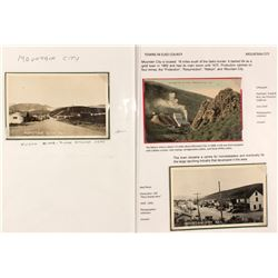 Mountain City, Elko County Postcards