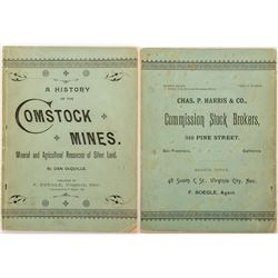 """A History of the Comstock Mines"" by Dan DeQuille"