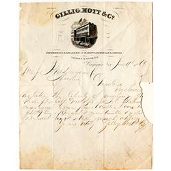 Rare Gillig, Mott Letterhead