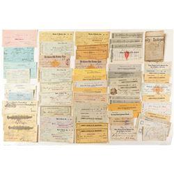 Nevada Check Collection