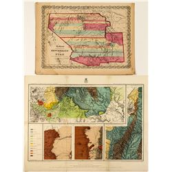 Wheeler and Colton Maps of New Mexico
