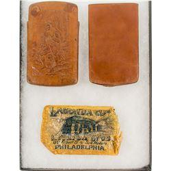 Lichten Bros. Leather Cigar Case