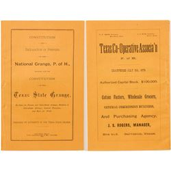 Texas State Grange, Patrons of Husbandry By-Laws Booklet