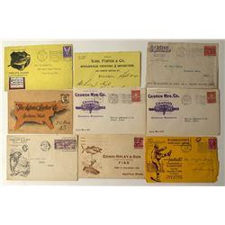 Washington State Postal Advertising Covers