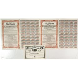 Wyoming Stock Certificate and Bonds