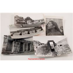 Machu Picchu Photo Postcards
