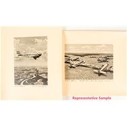 Six Prints of Early Lufthansa Planes