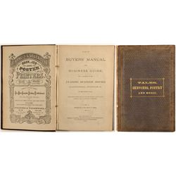 The Buyer's Manual and Business Guide…Pacific Coast, Price & Haley, 1872 (Business Directory)