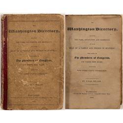 Washington D.C. Directory (1822)