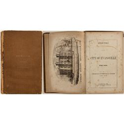 First Issue of the Directory of the City of Evansville (1858)