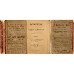 Fort Scott, Kansas Directory (1883)