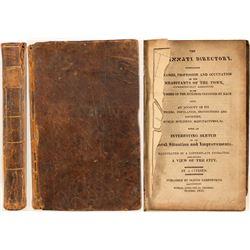 First Cincinnati, Ohio Directory