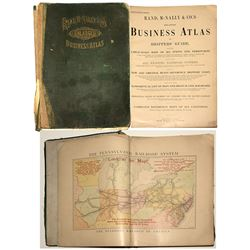 Rand, McNally & Co. Enlarged Business Atlas 1907