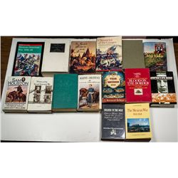 Spanish, Mexican, and American Military in South West Pre-Civil War Library.