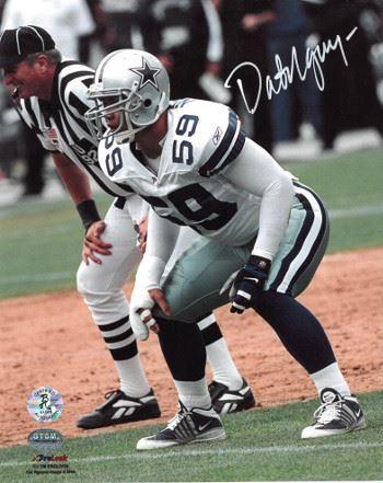 watch 7faaa 2ce94 Dat Nguyen Signed Dallas Cowboys 8X10 Photo (White Jersey)- Nguyen Hologram