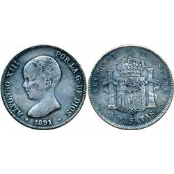 FOREIGN COINS : SPAIN