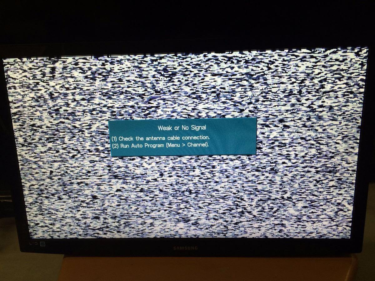 SAMSUNG B350 MODEL 27' LCD TV