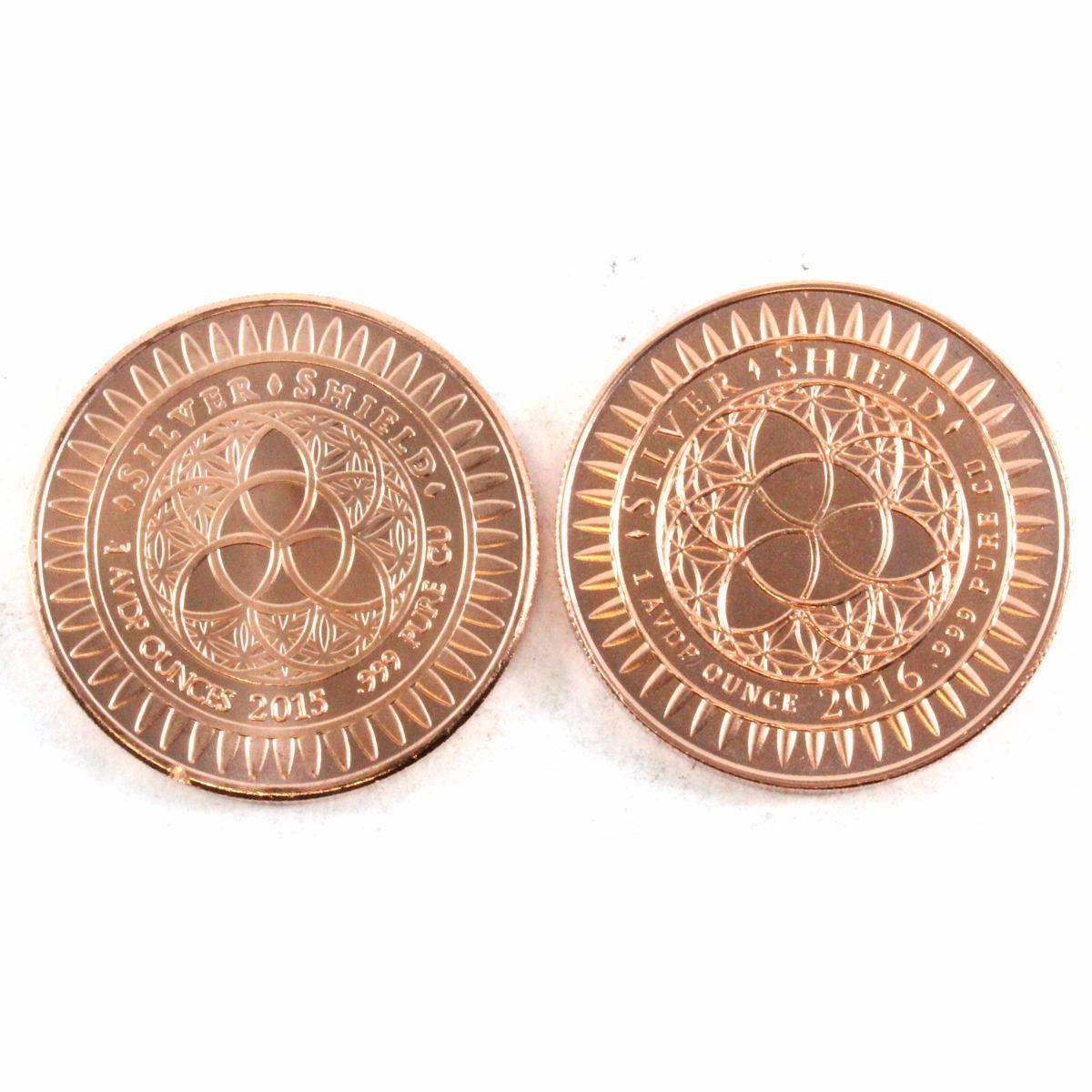 Limited 2016 Fine Come And Take Them 1oz Copper Round