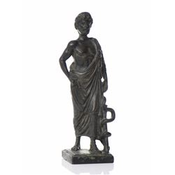 Bronze Sculpture Of Asclepius (Asklepios), A H