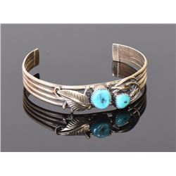 Pat Platero, Navajo Turquoise And 925 Sterling