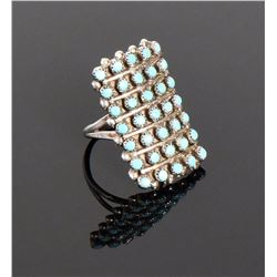 Navajo, Sleeping Beauty Turquoise Sterling Sil