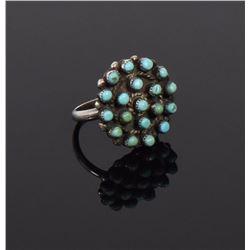 Zuni, Sleeping Beauty Turquoise Sterling Silve