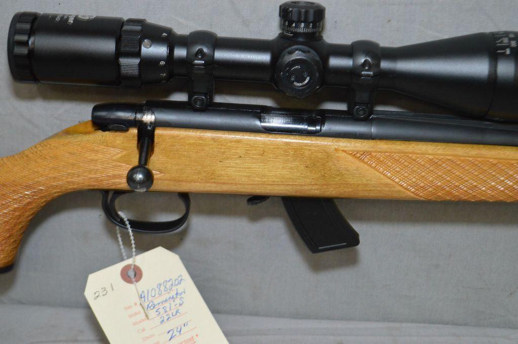 Remington Model 581 - S  22 LR Cal Mag Fed Bolt Action Rifle