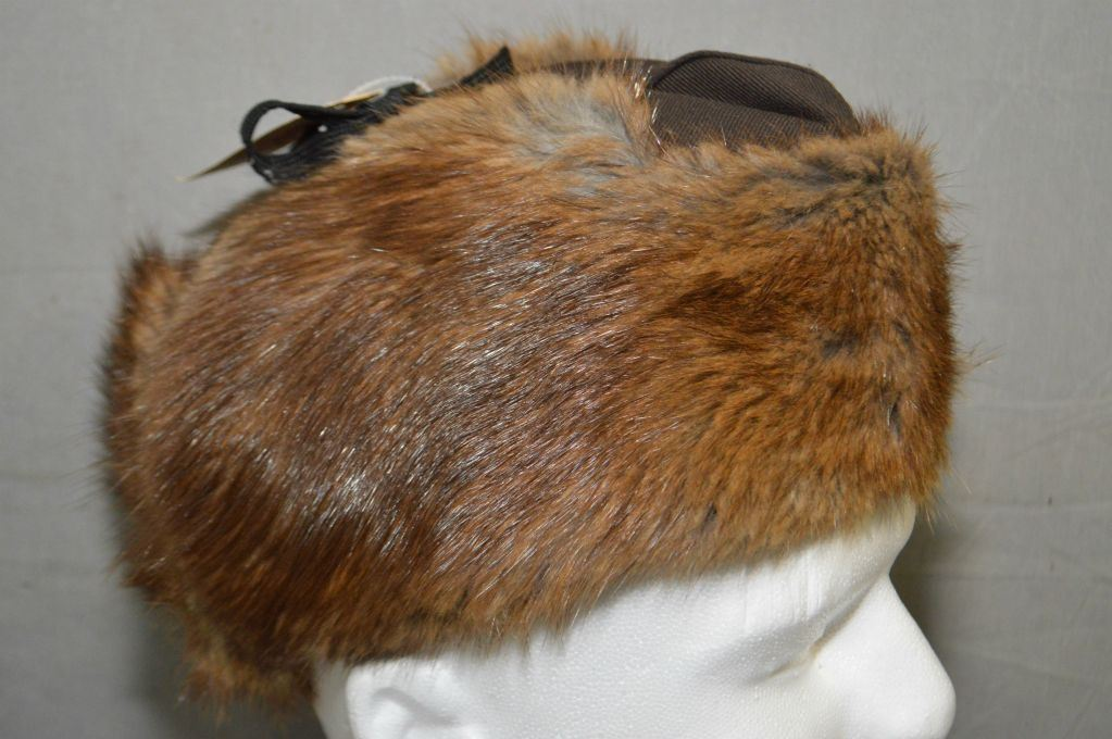 ce6800a86d93a Image 1   RCMP Beaver Winter Hat Size 7   Reliable Fur Co. Ltd Dated ...