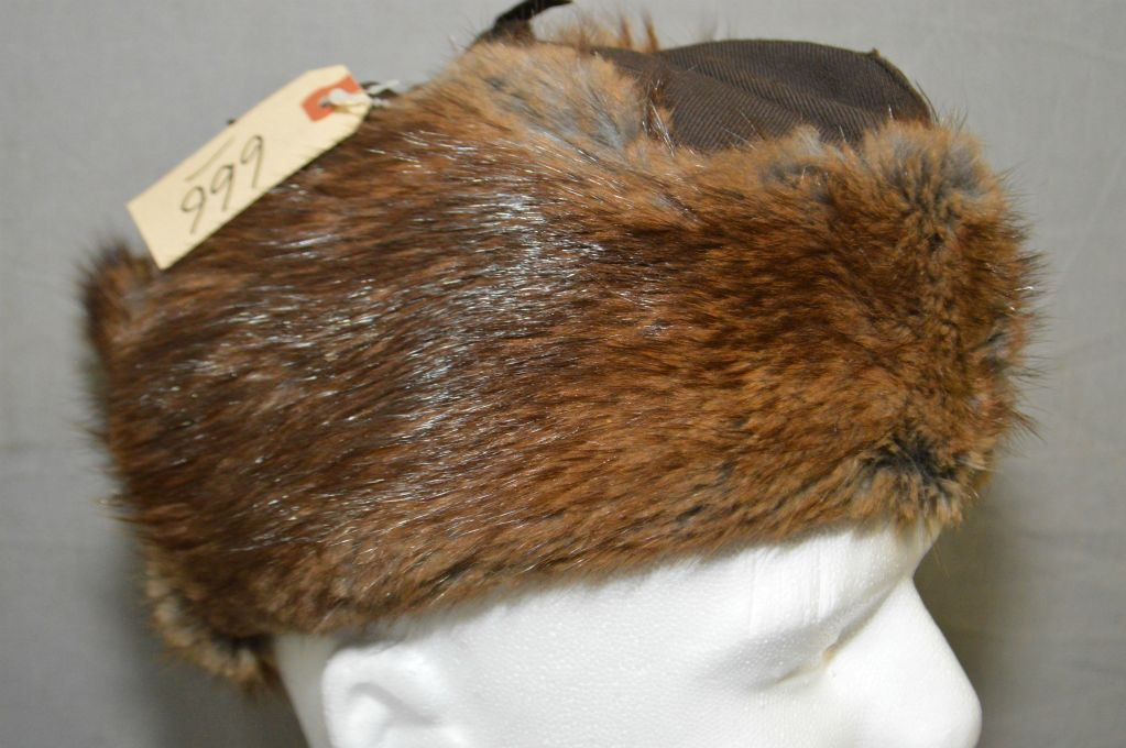 439aaa762ea52 RCMP Beaver Winter Hat Size 7 1 8   Reliable Fur Co. Ltd Dated 1973 ...