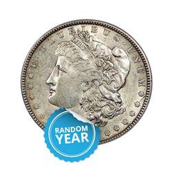Common Date $1 Morgan Silver Dollar Pre-1921 Uncirculated