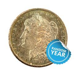 Common Date Morgan Silver Dollar Pre-1921 AU+
